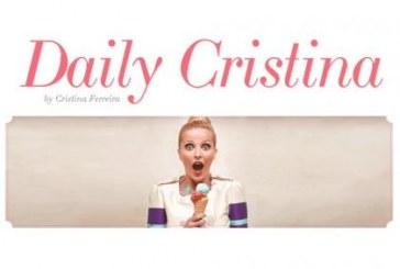 """Cristina Ferreira fala do site 'DailyCristina', em direto no """"A Tarde é Sua"""" [com vídeo]"""