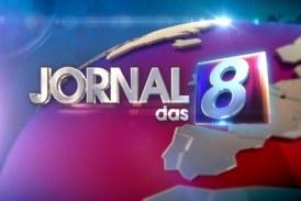 """Audiências: """"Jornal das 8"""" arranca liderança destacada"""