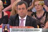 """Quintino Aires gera polémica no programa """"Você na TV!"""""""